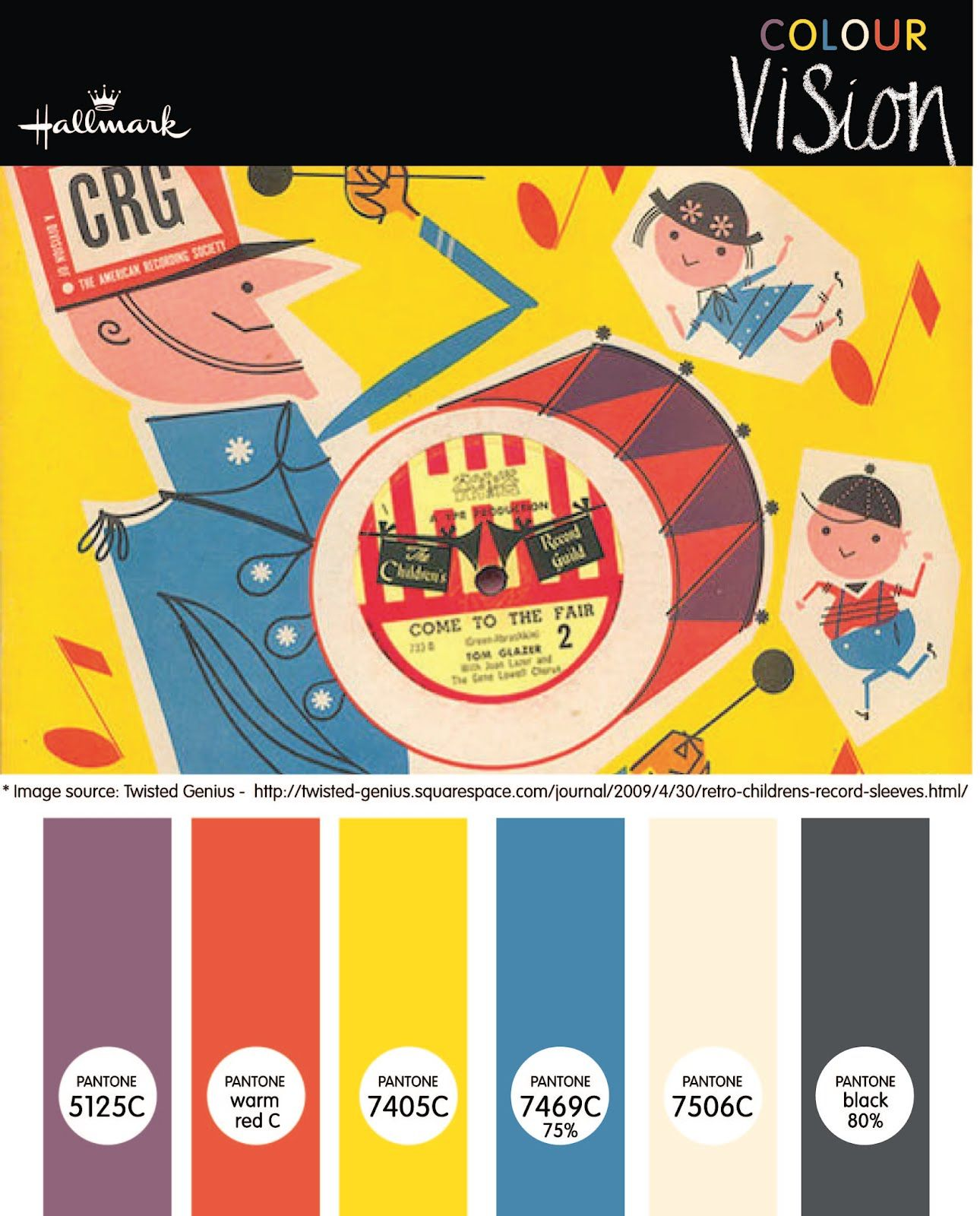 Colours For Kids Cf Kids Designs Retro Color Palette Retro