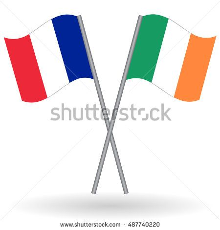 French And Irish Flags French Flag France Flag Flag Of France Irish Flag Ireland Flag Flag Of Ireland France Vs Ireland Flags Flag France Flag