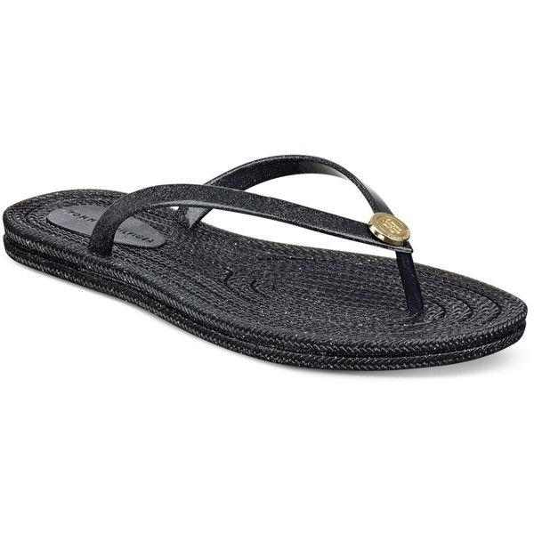 f70d5a600a9c Tommy Hilfiger Girly Jelly Flip-Flop Sandals ( 25) ❤ liked on Polyvore  featuring