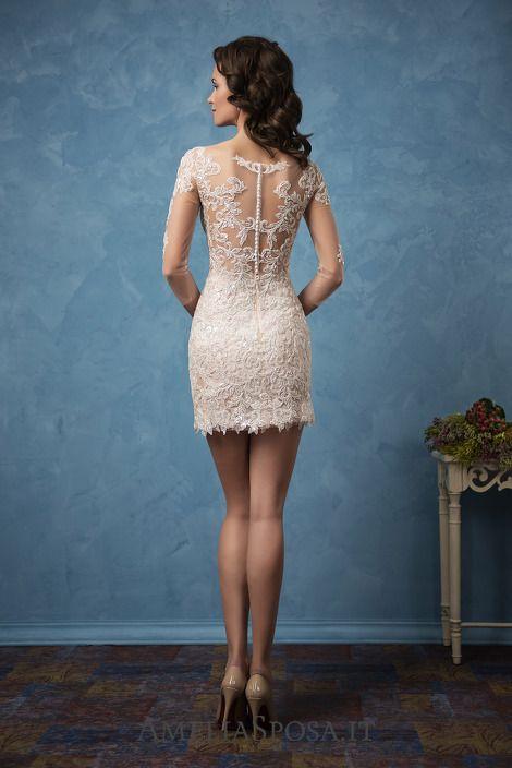 Wedding dress Cornelia - AmeliaSposa. | Bridal Gown--Short ...