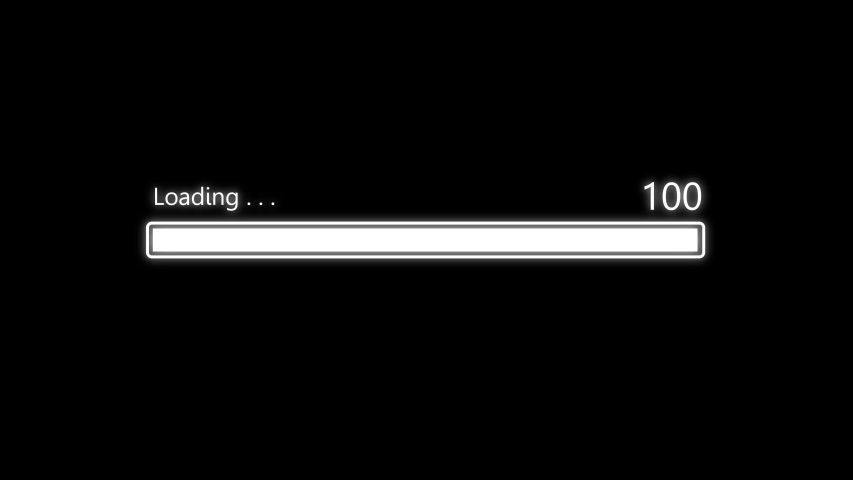 Loading Bar Downloading Barloading Screen Stock Footage Video (100% Royalty-free) 1052893343 | Shutterstock