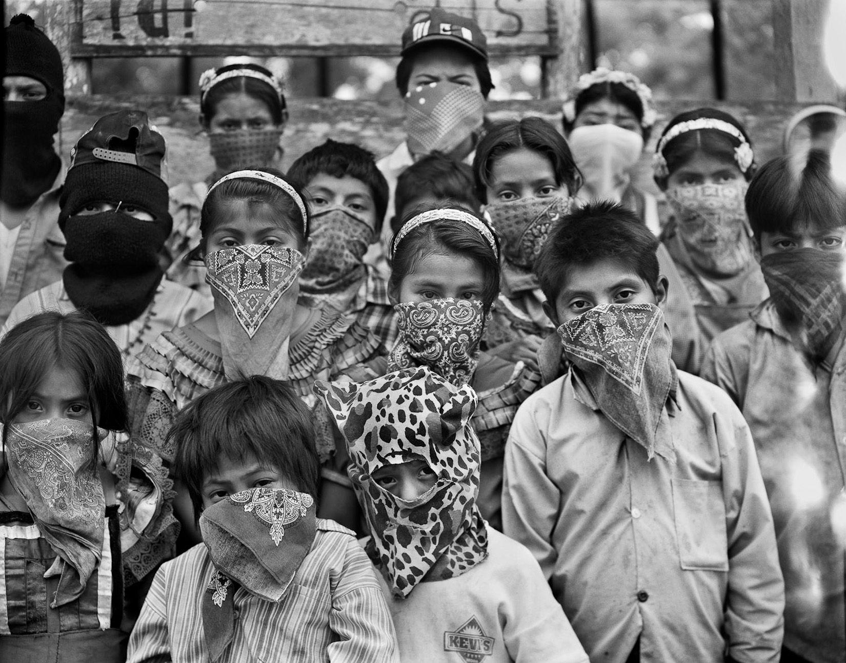 niños mexicanos zapatistas