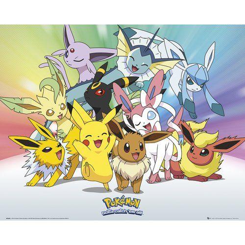 Pokemon Go Large Poster Art Print 91x61 cm