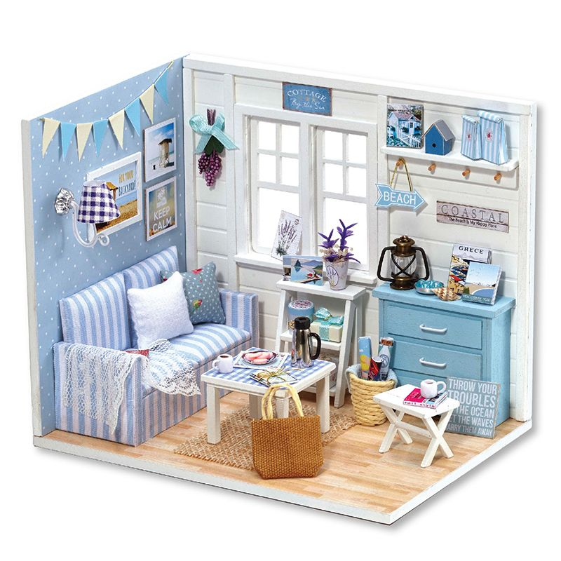 cheap dollhouse furniture. Cheap Doll House, Buy Quality Diy Miniatura Directly From China House Suppliers: Wooden Dollhouses Furniture Miniature Dollhouse