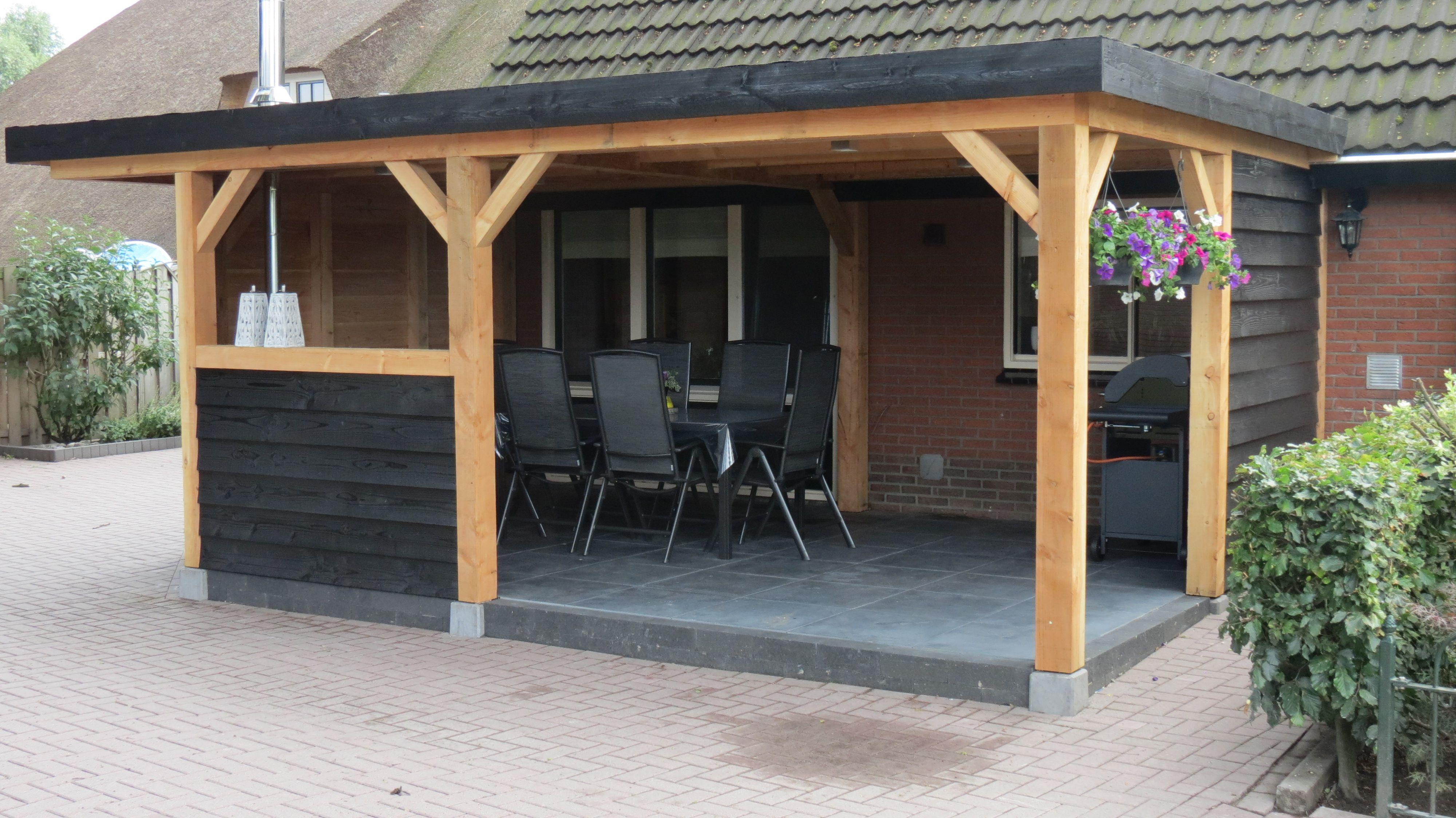 Zelf een veranda bouwen Veranda maken Houten veranda