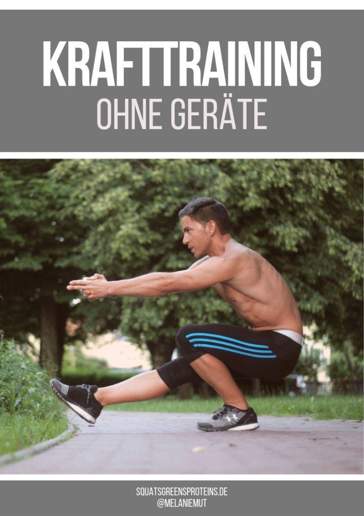 Photo of Krafttraining ohne Geräte: Wie du deinen Körper zur schwersten Hantel machst! – Squats, Greens & Proteins by Melanie