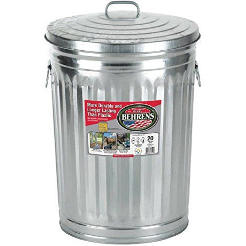 Behrens Locking Lid Can 20gallon Click For Special Deals Kitchenorganizerideas Metal Trash Cans Kitchen Trash Cans Trash Can