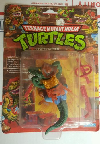 #Teenage mutant ninja #turtles tmnt #leatherhead 1989 moc,  View more on the LINK: 	http://www.zeppy.io/product/gb/2/192002904038/