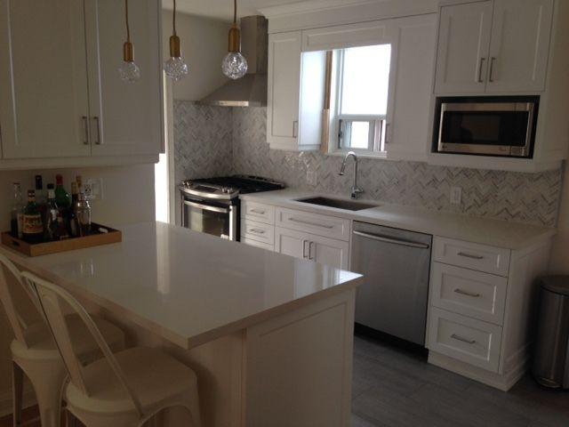 Kitchen renovation by SKY Kitchen Cabinets Ltd | Via HomeStars ...