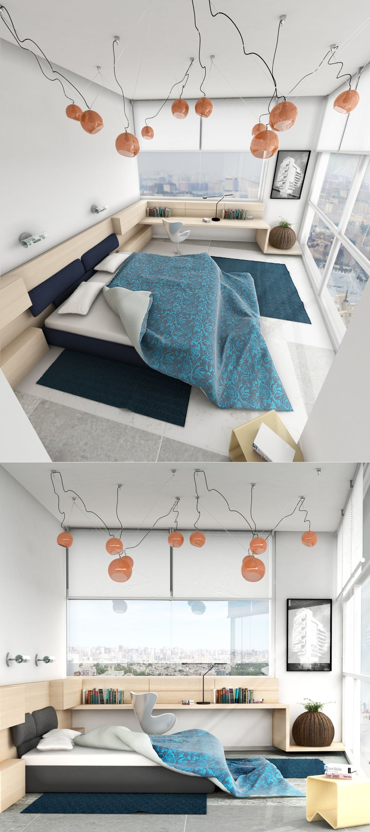 21 Cool Bedrooms For Clean And Simple Design Inspiration Heavenly