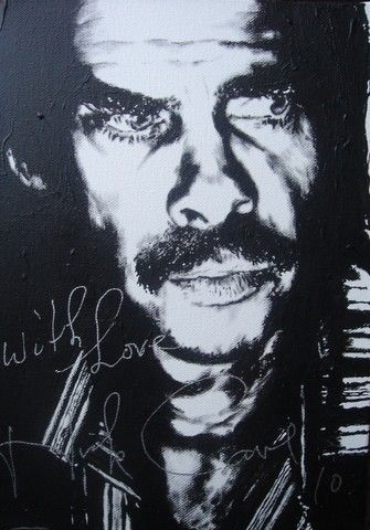 Artistmerv - why would anybody sell a Nick Cave autograph?