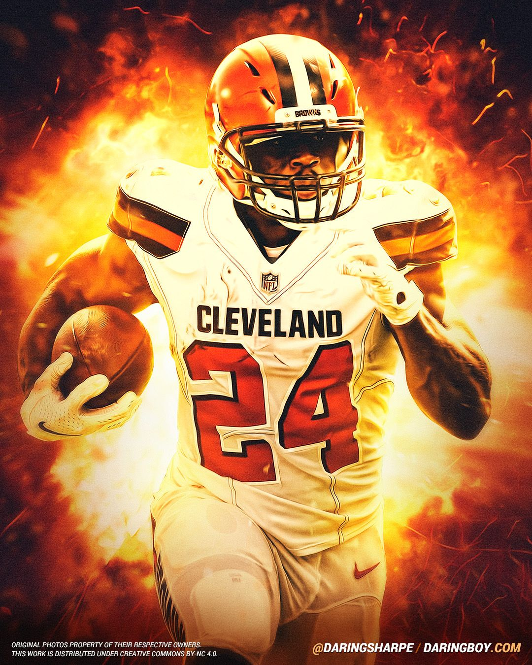 Nick Chubb Cleveland Browns Cleveland Browns Wallpaper Cleveland Browns Cleveland Browns Football