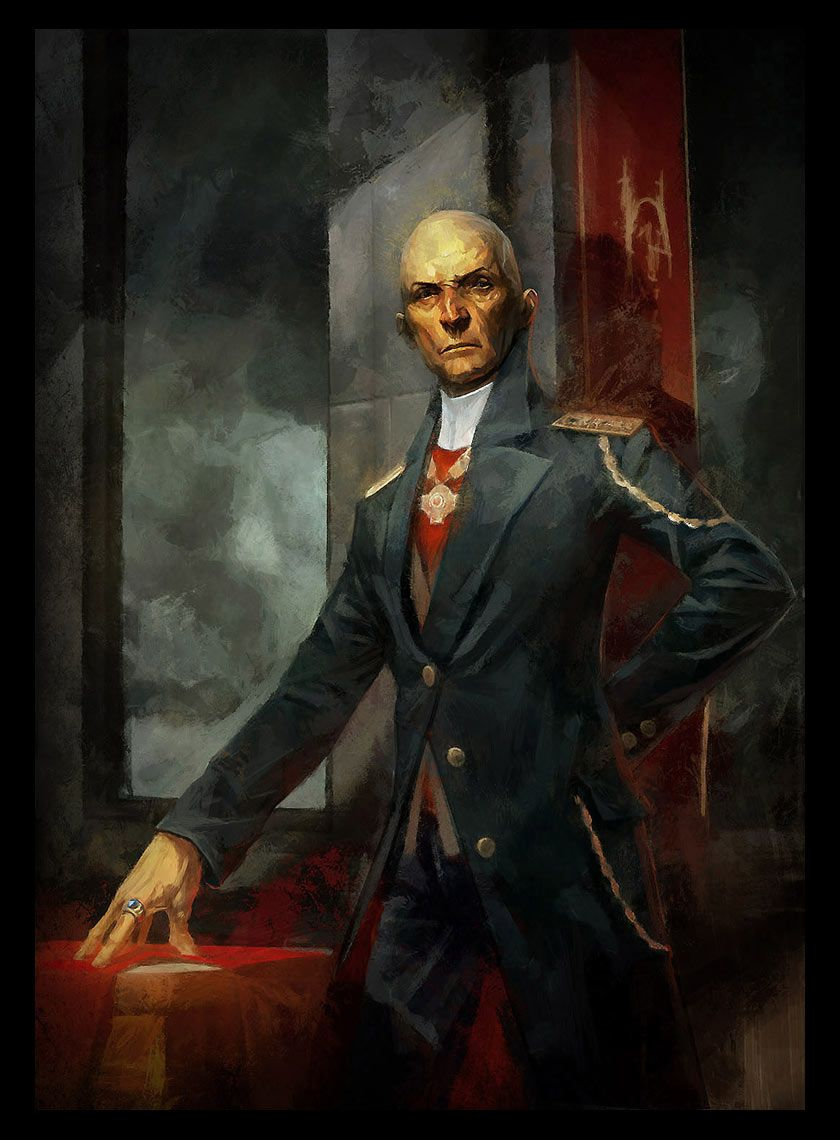 Dishonored Sokolov Painting The Spymaster S Axis Of Asymmetry