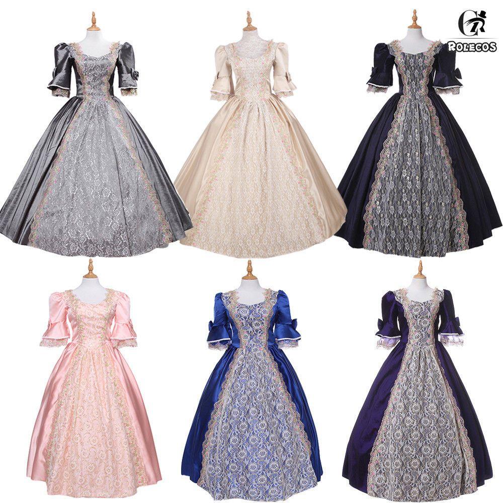 Women Victorian Vintage Ball Gown Wedding Party Dress Renaissance Costume  Fancy  cosplay  bestcosplay  costumes 8b0b68295