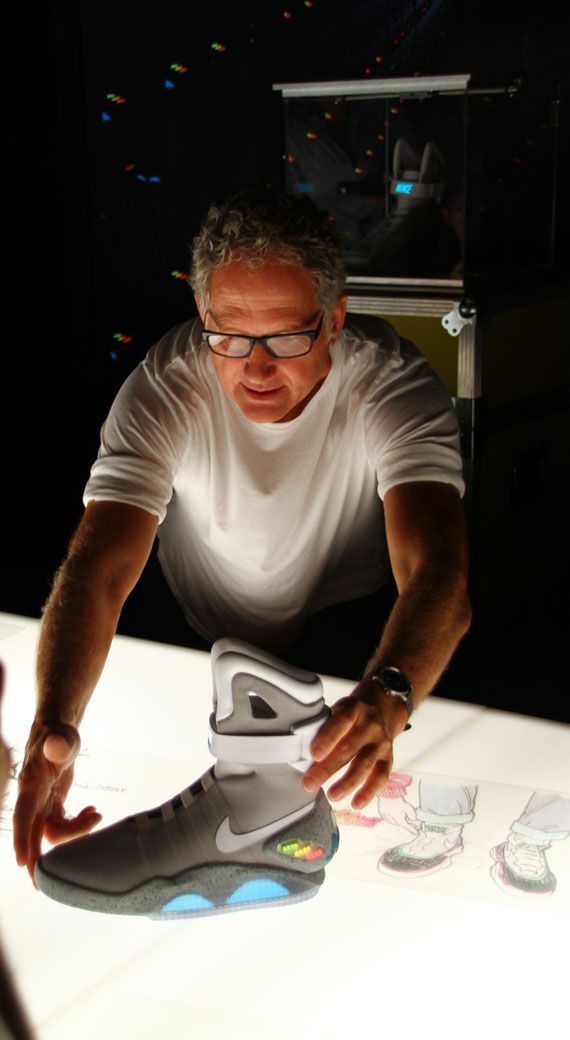 ea55ca2d Nike MAG 2011 (McFly) - Design Process with Tinker Hatfield ...