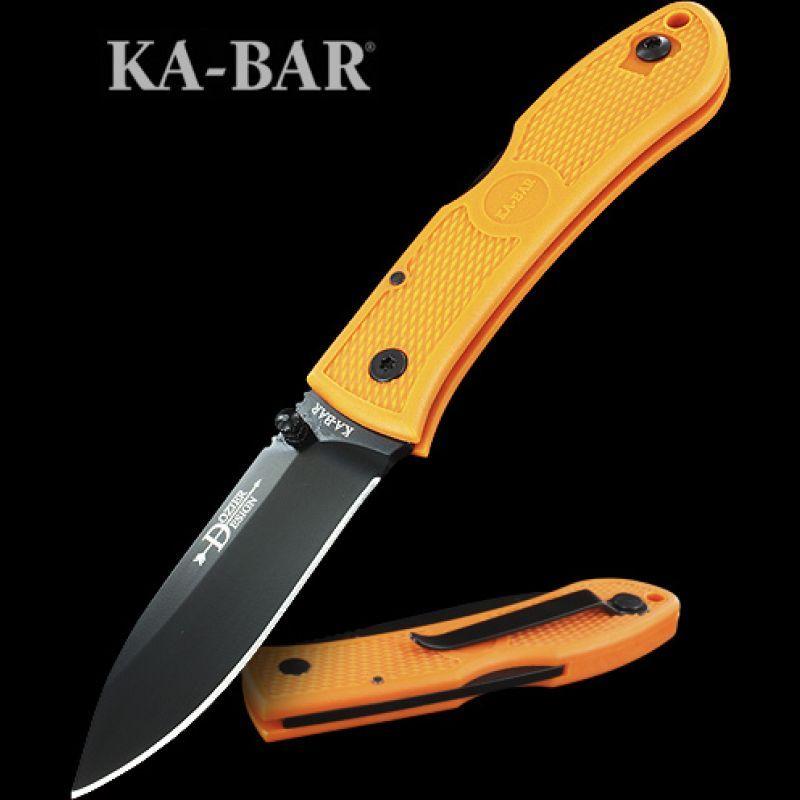 Ka-Bar Dozier Folding Hunter Black | Folding Blade Knives | Knives & Tools | Heinnie Haynes