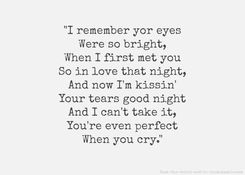 Beautiful Goodbye This Song Is So Perfect Goodbye Quotes Today Quotes Quotes