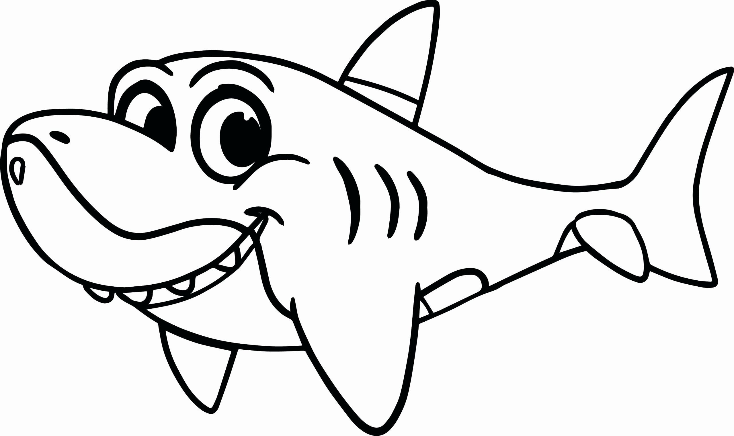 Great White Shark Coloring Page Luxury Great White Shark Coloring Pages To Print Shark Coloring Pages Cartoon Coloring Pages Cute Coloring Pages
