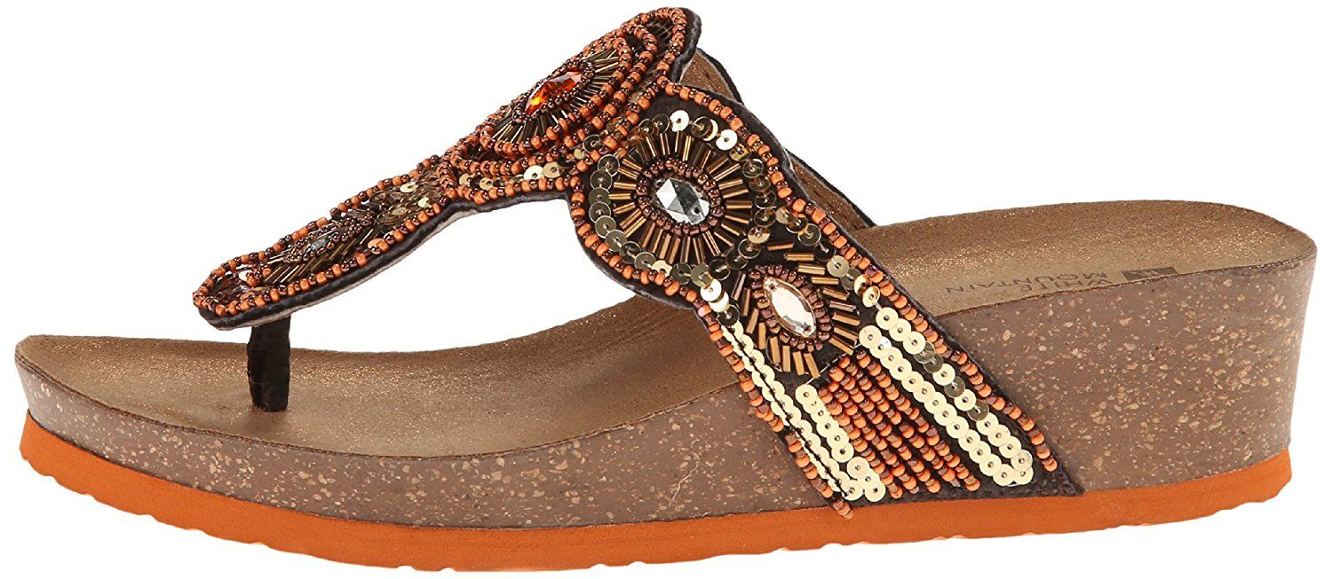 c36f4661ed0a21 White Mountain Women s Blast Thong Sandal   More info could be found at the  image url