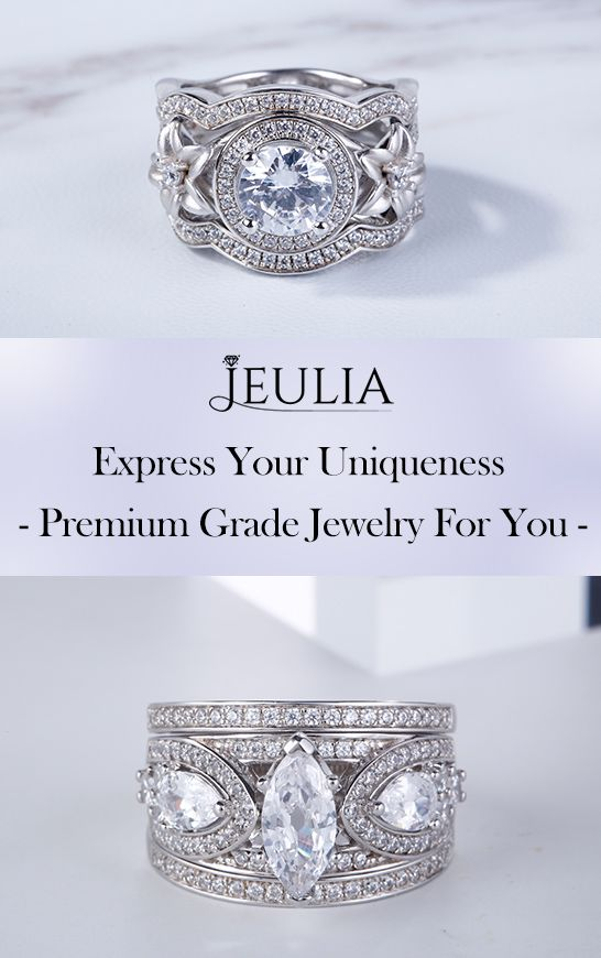 Express your love Jeulia Wedding Ring Trust Online Jewelry Store