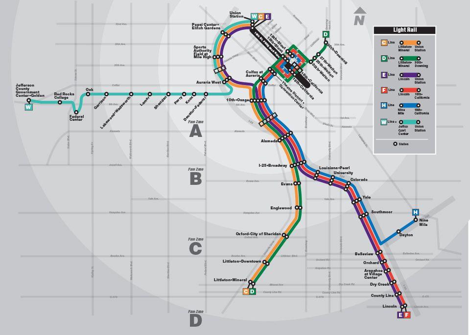 Denver Rtd Map 2010 Rtd Denver Com Navigation Thematic