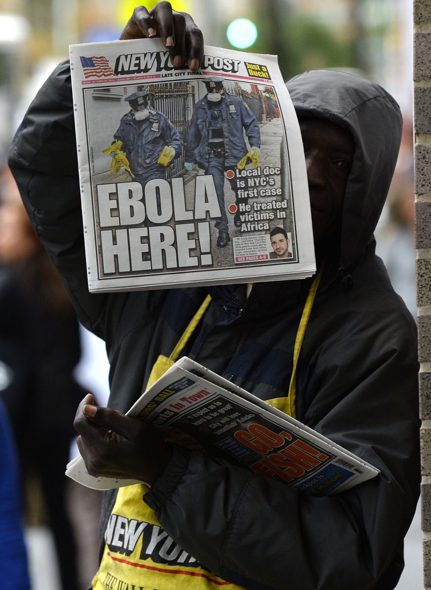 An nyc doctor has been diagnosed with ebola ebola nyc