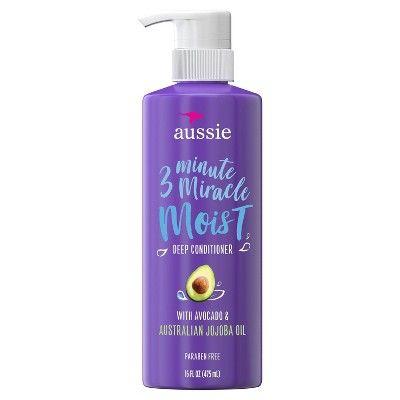 Aussie 3 Minute Miracle Moist Deep Conditioner 16 Fl Oz In 2020 Deep Conditioner Deep Hair Conditioner Aussie Conditioner