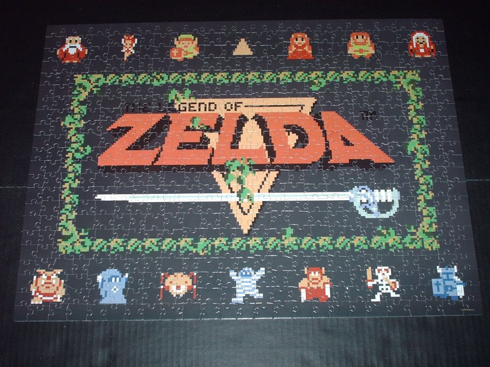 Jigsaw Review The Legend of Zelda Classic Puzzle Zelda