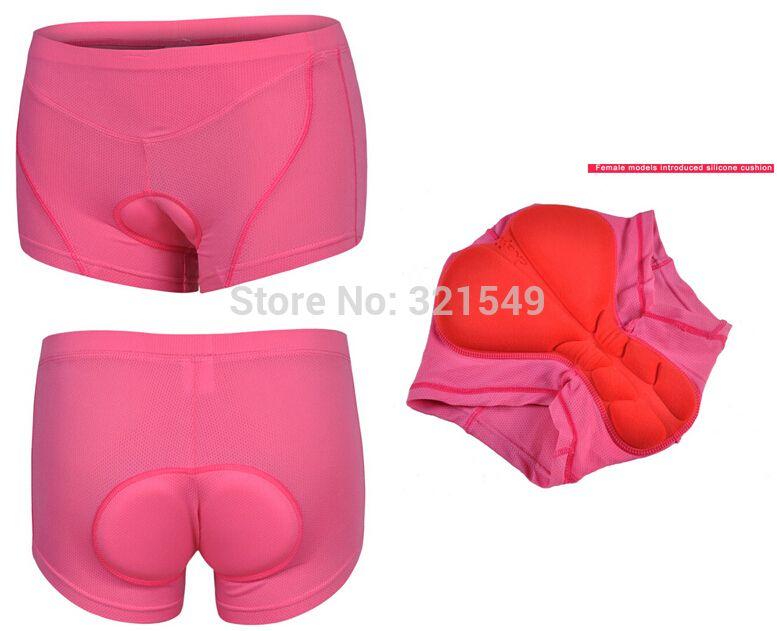 New Women Cycling Underpants Gel Padded Underwear Bike Ladies MTB Bicycle Shorts