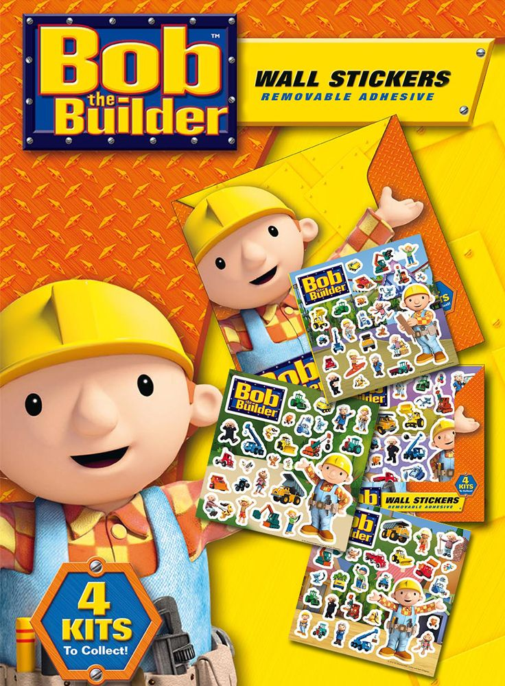 Nice Bob The Builder Removable Wall Stickers Part 27