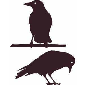 silhouette design store view design 49652 crows - Halloween Crows
