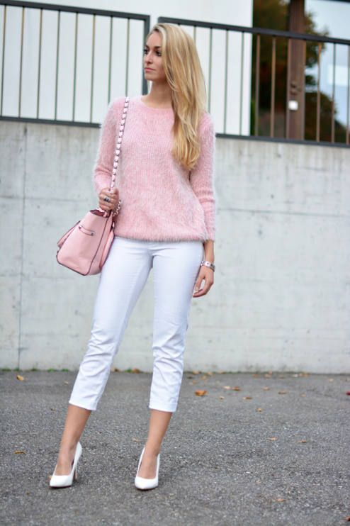What to Wear with a Fluffy Sweater | Fashion | Pinterest | Fluffy ...
