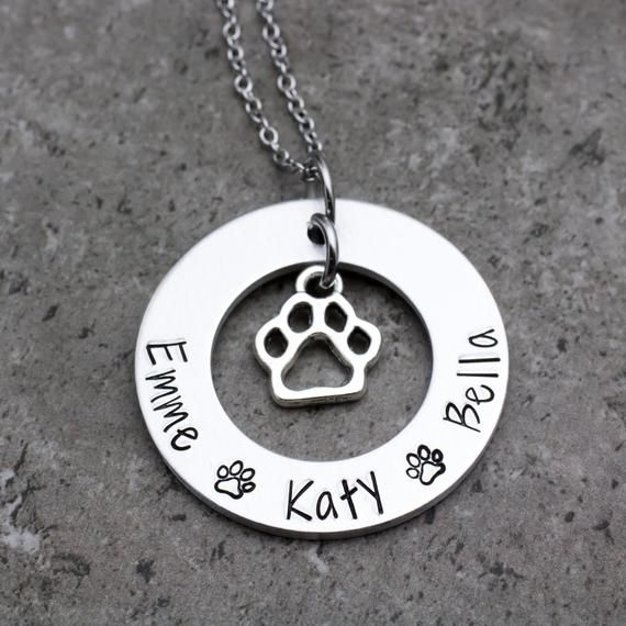 Necklace With Pets Names
