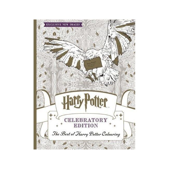 Trending Books Amazon Harry Potter Colouring Book Celebratory Edition The Best Of