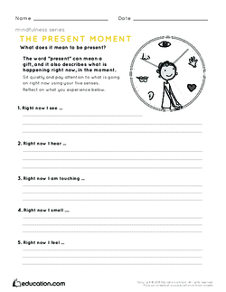 Mindfulness: The Present Moment | Lesson Plan | Education ...