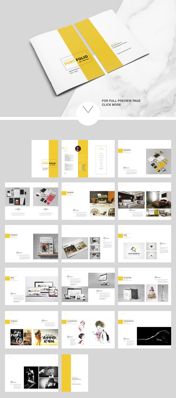 Indesign Portfolio Brochure - Vol. 2 by tujuhbenua on ...