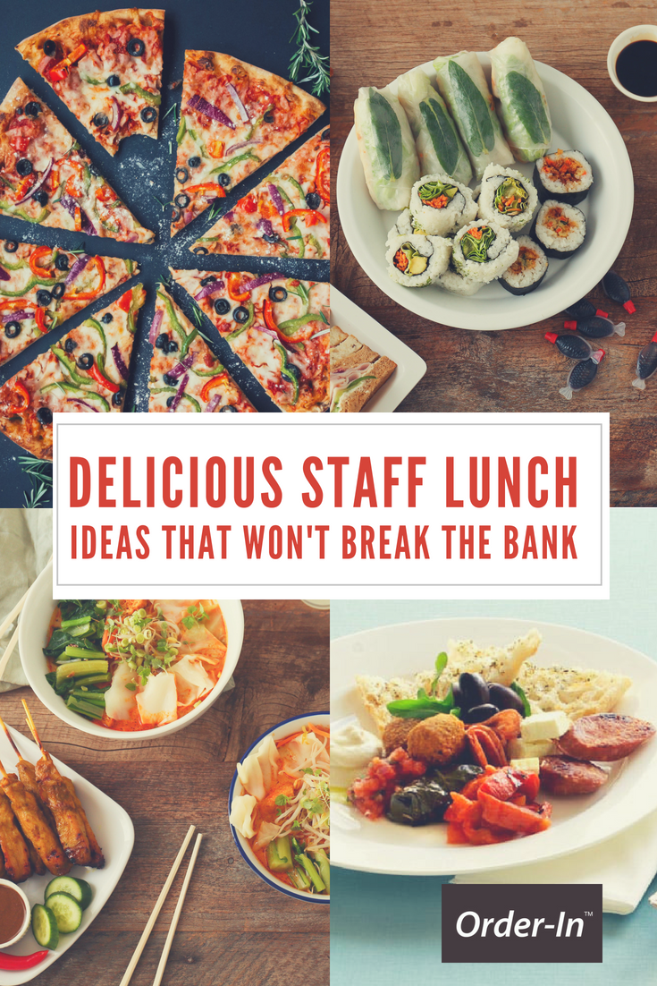 Amazing Food Ideas For Lunch Meetings
