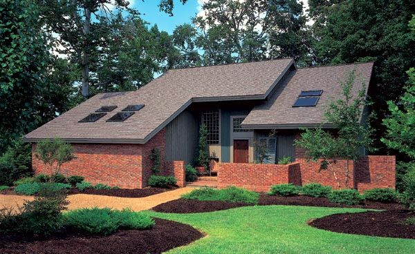 Contemporary House Plan 95122 Contemporary house plans and