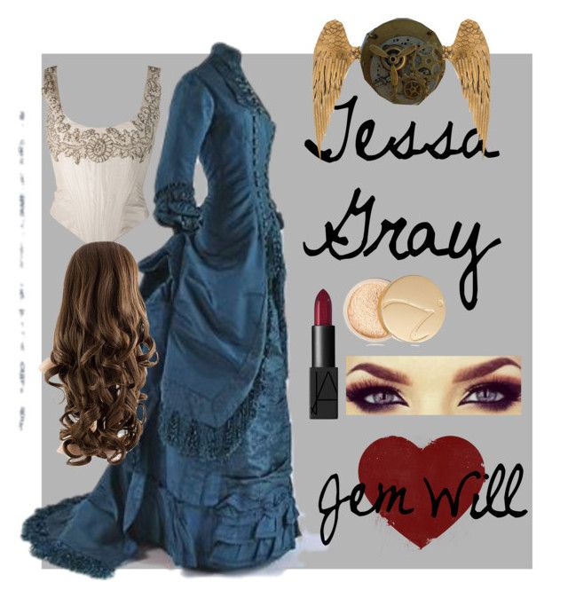 """Tessa Gray"" by fandombreather ❤ liked on Polyvore featuring NARS Cosmetics and Jane Iredale"