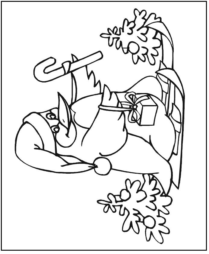 christmas penguin coloring pages 2010 MakingFriends, Inc All - new christmas coloring pages penguins