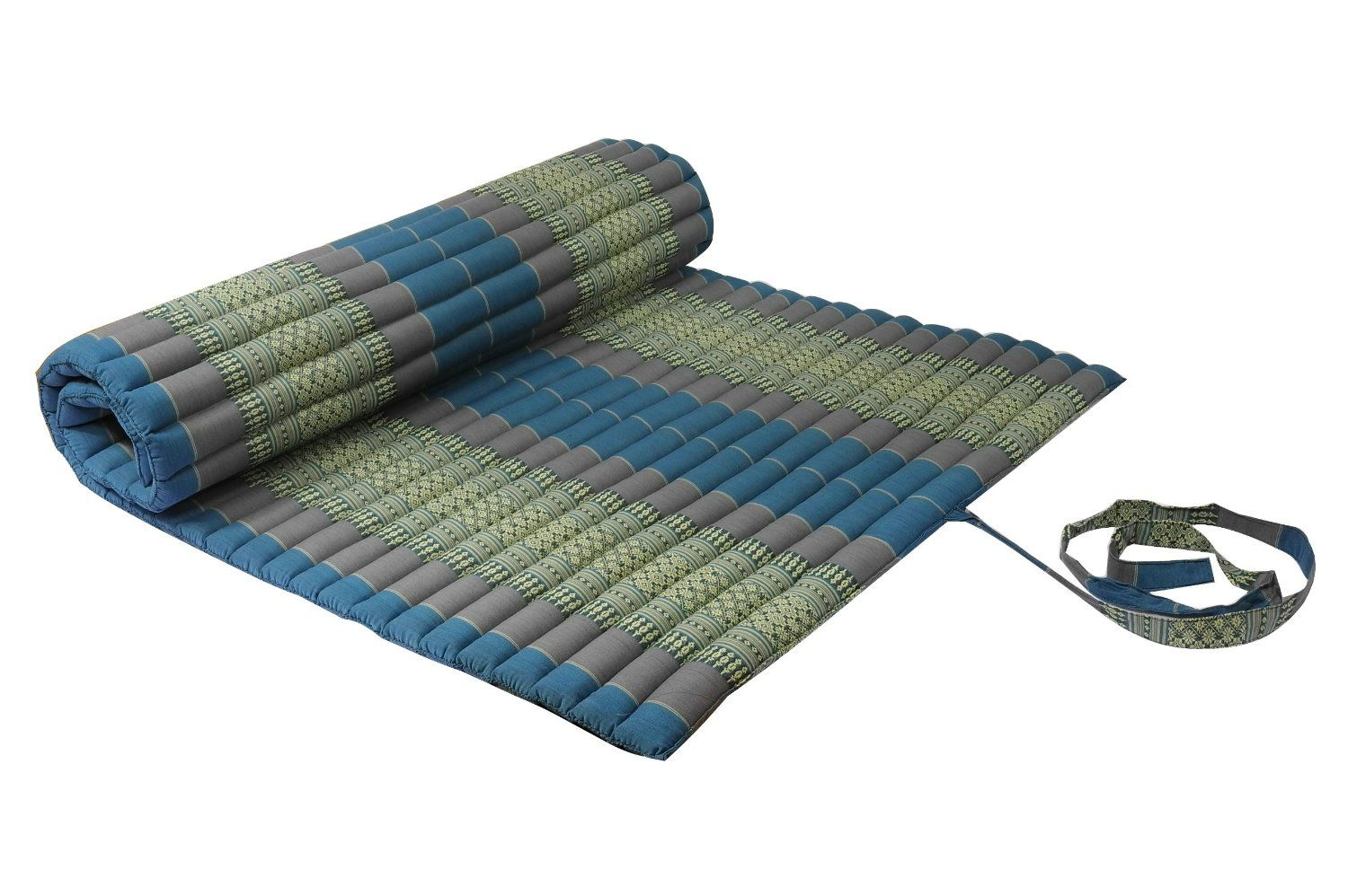 kitchen mats amazon what to clean grease off cabinets thai design mat rollable with kapok filling skyblues