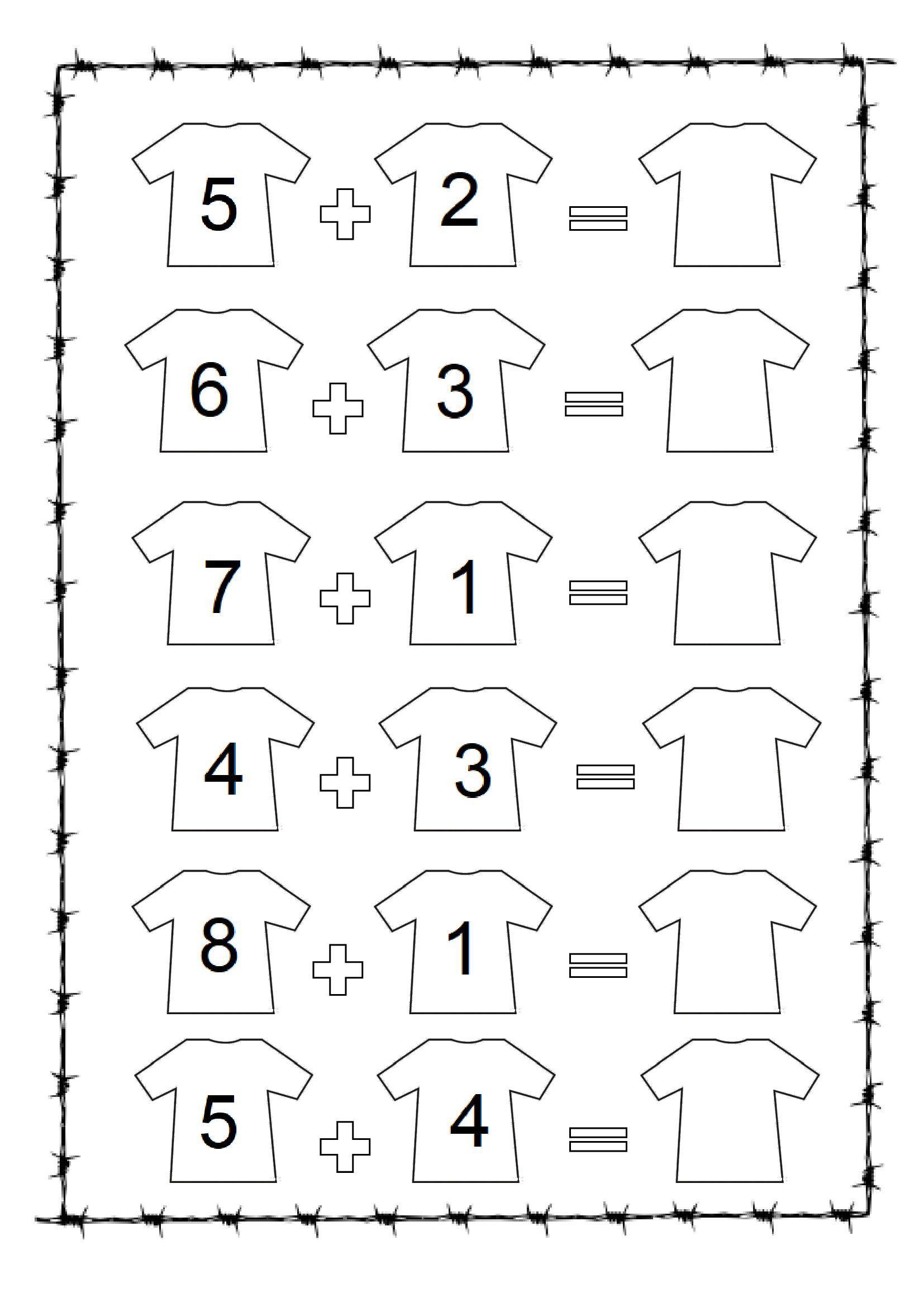 Adding worksheet for kindergarten