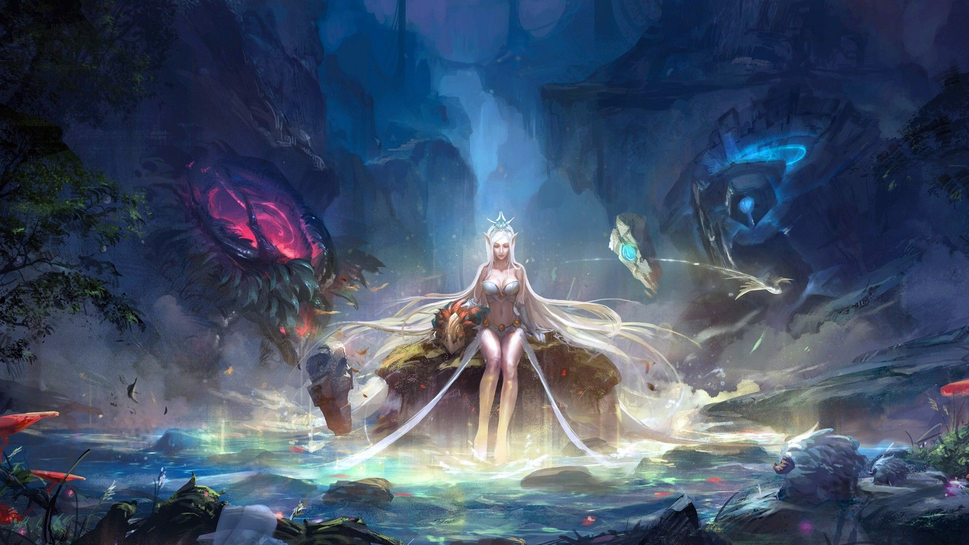 Download League Of Legends Hd Wallpaper In 1920x1080 Screen Resolution Lol League Of Legends League Of Legends Fantasy Girl