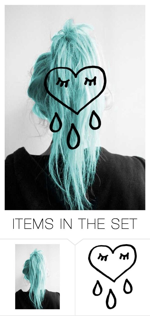 """""""Gimme the hair"""" by emo-baby-40 ❤ liked on Polyvore featuring art"""