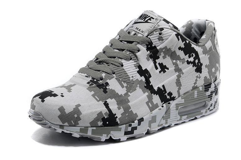 quality design c2fde 3dbc4 Herre Nike Air Max 90 VT Sko - Camouflage Hvid