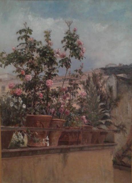 Vasto Gallery Filippo Palizzi Le Rose Della Mia Terrazza