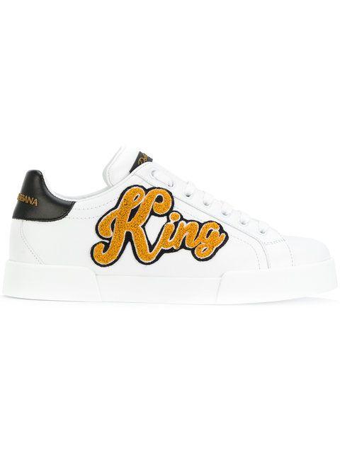DOLCE   GABBANA King 1984 Portofino Sneakers.  dolcegabbana  shoes  sneakers 3e2f73b8a70f