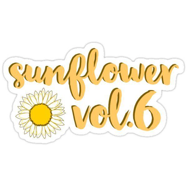 'Sunflower, Vol. 6 — Harry Styles' Sticker by kalinamia in ...