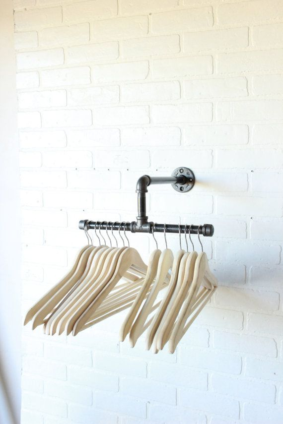 12 pouces Split vêtements industriels Rack par CoronaConceptsCo