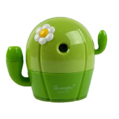 Cactus Manual Pencil Sharpener for Office and Home Desks Classroom (Green) Panda Superstore http://www.amazon.com/dp/B00J98BH56/ref=cm_sw_r_pi_dp_5lRSvb1YGBCRZ